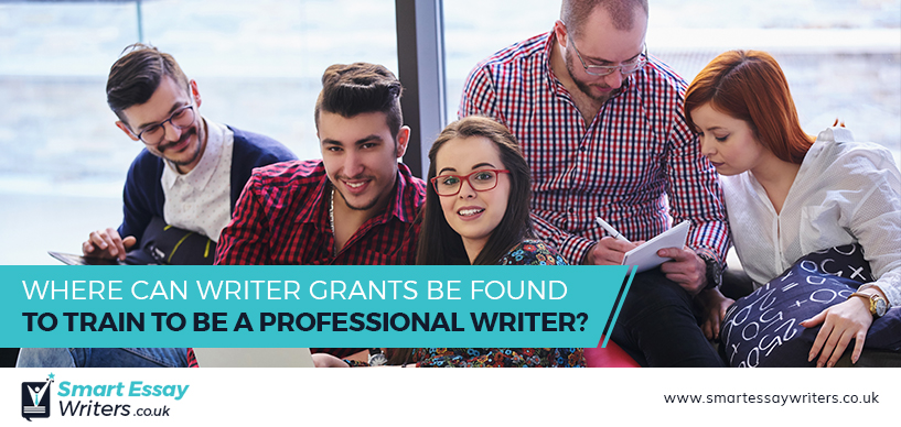 Where Can Writer Grants Be Found to Train to Be a Professional Writer?